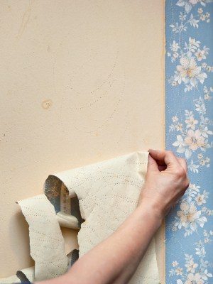 Wallpaper removal by Ramirez Brothers Painting.