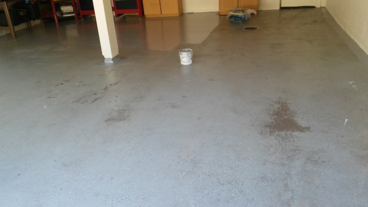 Garage Floor Painting