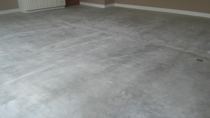 Residential Garage Floors Finished with Epoxy Paint in Florence, KY