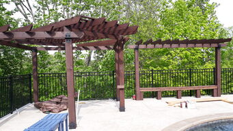 Before & After Pergola Staining in Cincinnati, OH (4)