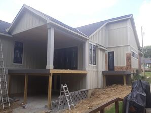 Before & After Exterior Painting in FT. Thomas, KY (1)