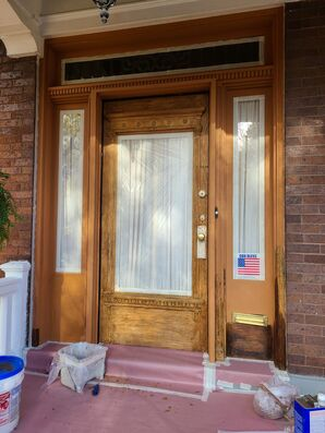 Before & After Strip & Stain Frot Door in Newport, KY (1)