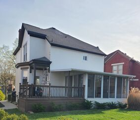 Before & After Exterior House Painting in Fort Thomas, KY (2)