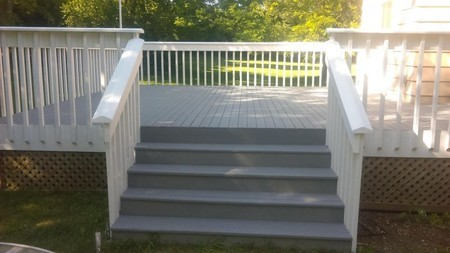 Refinish Deck Residential House Deck Staining Ohio