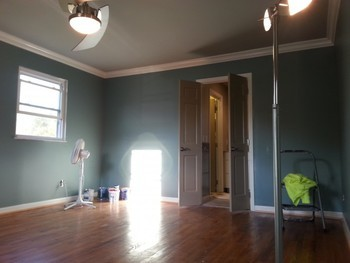 Before and After Interior Painting in Cincinnati, OH