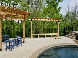 Before & After Pergola Staining in Cincinnati, OH (3)